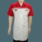 Bata-hombre-laboratorio-esso-rojo-con-blanco-frente