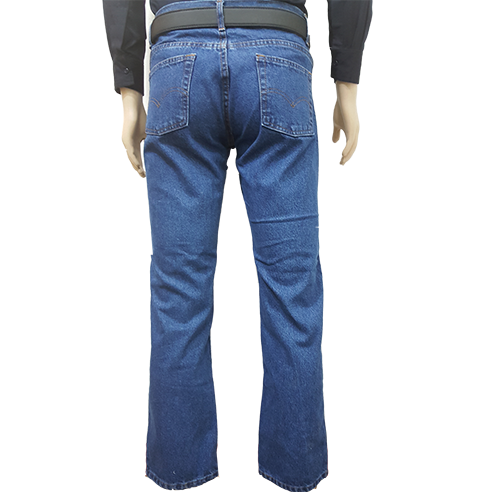 Pantalon De Lona Estilo Jeans Clasico De Alto Rendimiento Color Azul Claro Con Bordado Venta Sobre Pedido Codigo 09002 Rw Uniformes En Guatemala